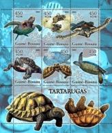 Guinea - Bissau 2005 - Turtles & Scouts Logo (+oceanic Fish) 6v, Y&T 2080-2085, Michel 3223-3228 - Guinée-Bissau