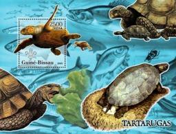 Guinea - Bissau 2005 - Turtles & Scouts Logo (+oceanic Fish) S/s, Y&T 291, Michel 3229/BL538 - Guinea-Bissau