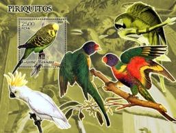 Guinea - Bissau 2005 - Parrots S/s, Y&T 292, Michel 3250/BL541 - Guinée-Bissau