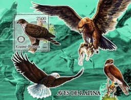 Guinea - Bissau 2005 - Birds Of Prey & Rotary S/s, Y&T 293, Michel 3243/BL540 - Guinée-Bissau