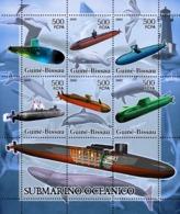 Guinea - Bissau 2005 - Submarines (+lighthouse & Sea Birds) 6v, Y&T 2140-2145, Michel 3297-3302 - Guinea-Bissau