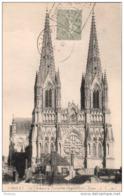Maine Et Loire Daguin De Cholet Toiles Et Mouchoirs Sur Carte Postale De Notre Dame - Marcophilie (Lettres)