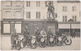 REMIREMONT (88) PHOTO. MOTO-CLUB ROMARIMONTAIN. CIRCUIT Des VILLES D'EAUX De L'EST.PHOTO MENIGOZ. . 1929. - Sports