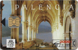 Spain - Telefónica - Palencia - CP-052 - 10.1994, 2.000PTA, 6.500ex, Used - España