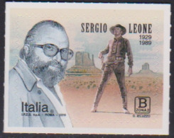 ITALY, 2019, MNH, ACTORS, SERGIO LEONE, WESTERNS, 1v - Cinema