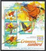 Sierra Leone 2015**,  Int. Briefmarkenausst. Singapur, Sukkulente / Sierra Leone 2015, MNH, Int. Stamp Show Singapore - Sukkulenten
