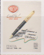ITALY, 2019, MNH,ITALIAN PRODUCTS, PENS, AURORA PENS, 1v - Stamps