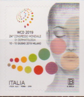 ITALY, 2019, MNH , DERMATOLOGY, HEALTH, 24th WORLD CONGRESS OF DERMATOLOGY,1v - Health