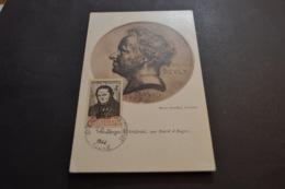 RARE Carte Maximum 20/03/1944 Stendhal  N°555 - Cartoline Maximum