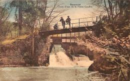Beaumont - Chute D'eau De La Platte Gouffre (animée, Colorisée, Edit. Alfred Louis Joret) - Beaumont