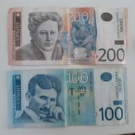 SERBIA - 100 & 200 Dinara 2013 Used - Serbien