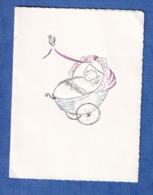 Carte Ancienne - Faire Part De Naissance - Evelyne BEAUGUITTE Née à LAVAL Le 13 Mars 1965 - Fille De Marcel - Naissance & Baptême
