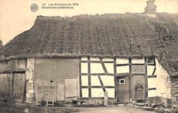 Spa (environs De) - Chaumière Ardennaise (animée, Albert, Photo Belge Lumière 1922) - Spa