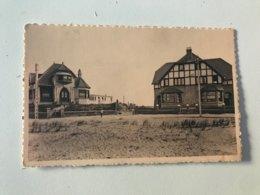 """Carte Postale Ancienne   St-Idesbald  Villas """"La Mascotte"""" """"Les Bécasses"""" Et """"Bécassine"""" - Koksijde"""
