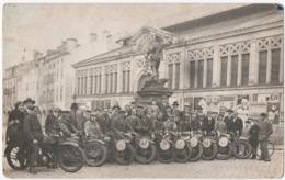 REMIREMONT (88) PHOTO. MOTO-CLUB ROMARIMONTAIN. CIRCUIT Des VILLES D'EAUX De L'EST.PHOTO MENIGOZ. 1929. - Sports