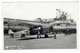 ANTWERPEN - DEURNE - Luchthaven - ANVERS - Aéroport - SABENA Vliegtuig - Antwerpen