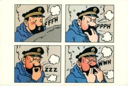 Tintin  Capitaine Haddock à L'occasion De L'exposition Au Tibet - Comicfiguren