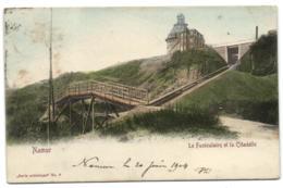 Namur - Le Funiculaire Et La Citadelle - Namur