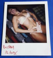 Vintage SEXY PIN-UP GIRL Photo - POLAROID Portrait - Hübsche Junge Frau, Jolie Jeune Femme, Pretty Young Woman [19-858] - Pin-Ups