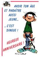 "Gaston Lagaffe ""Avoir Ton âge..."" - Comics"