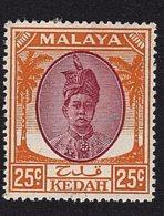 Malaysia - Kedah, 1950, SG 85, Mint Hinged - Kedah