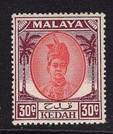 Malaysia - Kedah, 1950, SG 85a, Mint Hinged - Kedah