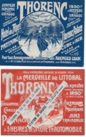 Affichette Promotion THORENC (ALPES-MARTIMES) Station Alpestre Près De GRASSE 1904 - Tourism Brochures