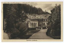 Marienbad Waldquelle 1936 Sudetenland Mariánské Lázně - Sudeten