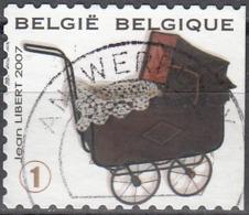 Belgique 2007 COB 3755 O Cote (2016) 1.70 Euro Jouet Landau Cachet Rond - Belgique