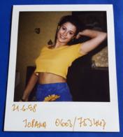 Vintage SEXY PIN-UP GIRL Photo - POLAROID Portrait - Hübsche Junge Frau, Jolie Jeune Femme, Pretty Young Woman [19-859] - Pin-Ups