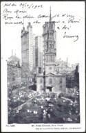 NEW YORK Gillender Building Sent 1902 From HOLDER, Fla To Belgium - New York City