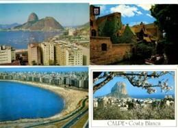Monde : Lot De 300 CPM - Cartes Postales