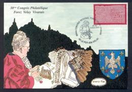 France 2000 - Lacemaker, Dentellière, Lace Maker Congress Le Puy, Maximum Card - Cartes-Maximum