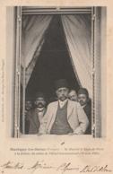 Martigny Les Bains - Sa Majesté Le Shah De Perse à La Fenêtre Du Salon De L'hôtel International (11 Août 1902) - France