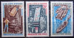 COTE D'IVOIRE                   N° 298/300                     NEUF** - Côte D'Ivoire (1960-...)