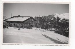 CHÂTEAU D'OEX Skilift Monts-Chevreuils - VD Vaud