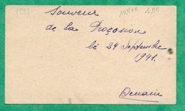 Denain (59) Souvenir De La Procession 2scans 24-09-1941 Venite Adoremus - Images Religieuses
