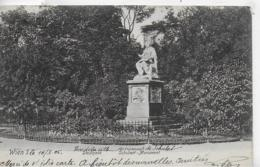 AK 0323  Wien - Satdtpark ( Schubert-Monument ) / Verlag Schindler Um 1903 - Vienna Center