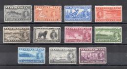 CANADA - (1937 - Province - NEWFOUNDLAND) - Incoronazione - Re Giorgio VI°- 11 Valori - Nuovi - Linguellati* -(FDC16891) - 1908-1947
