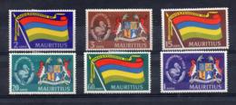 MAURITIUS - 1969 - Indipendenza - 6 Valori - Nuovi - Linguellati - (FDC16893) - Mauritius (1968-...)