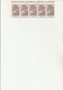 BANDE DE 5 VIGNETTES JEAN MOULIN - EXPO MUSEE COMMUNAL DE LA RESISTANCE - VENISSIEUX - 1979 - Commemorative Labels