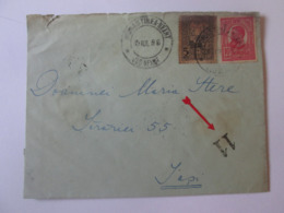 Romania-Targu Neant/Manastirea Neamt Mailed Envelope 1916 - 1881-1918: Charles I