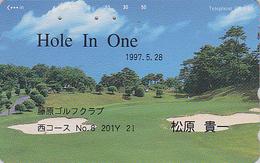 Télécarte Japon / 110-186 - Sport GOLF - Japan Sports Phonecard Telefonkarte - MD 372 - Japon