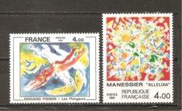 Francia-France Nº Yvert 2168-69 (MNH/**) - Francia