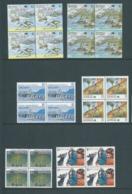 Australia 1988 Specimen Overprints Set Of 6 In Fresh MNH Bocks Of 4 - Mint Stamps