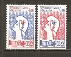 Francia-France Nº Yvert 2216-17 (MNH/**) - Francia