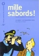 """Carte Postale édition """"Carte à Pub"""" - Mille Sabords - Tintin, Haddock Et Les Bateaux (Hergé) - Comics"""