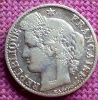 FRANCE: 50  CENTIMES 1894 A  E.A.OUDINE ARGENT/SILVER KM 834.1 TTB. - Francia