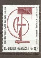 Francia-France Nº Yvert 2551 (MNH/**) - Francia