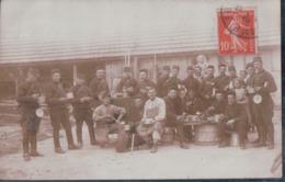 CARTE PHOTO Prise à SOMPUIS Le Soir à La Soupe 1912 écrit René - Sonstige Gemeinden
